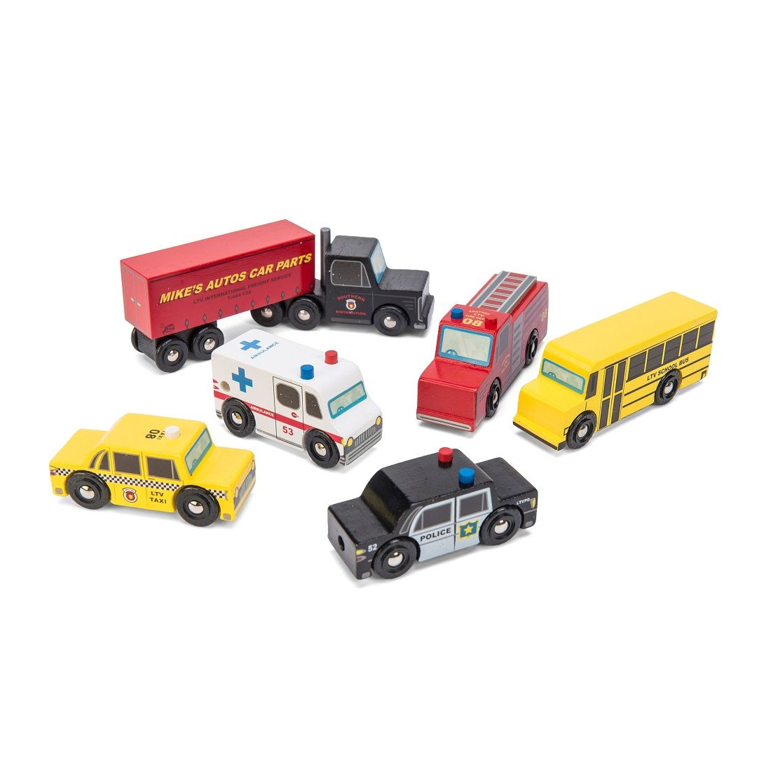 Le Toy Van Set autíček New York